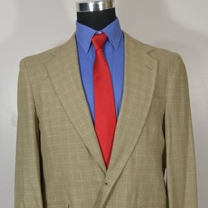 Savile Row 40S Sport Coat Blazer Suit Jacket